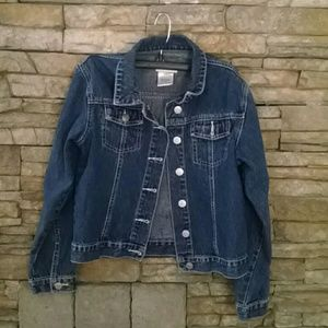 American Girl Denim Jacket M